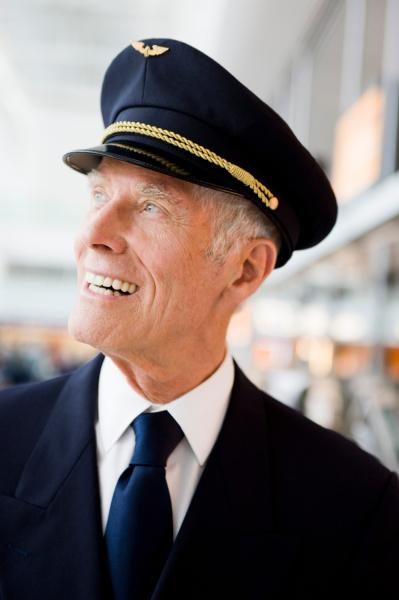 flight captain smiling