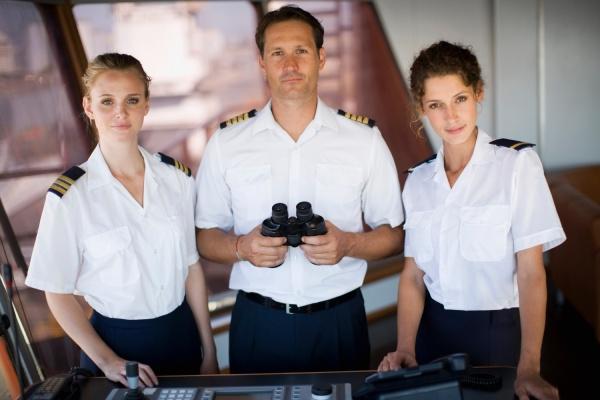 portrait of a captain crew