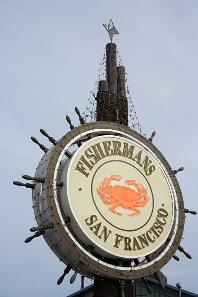 fishermans wharf sign
