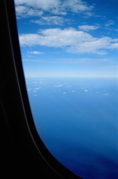 view from an aeroplane window