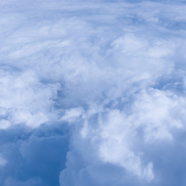 sky clouds over the clouds