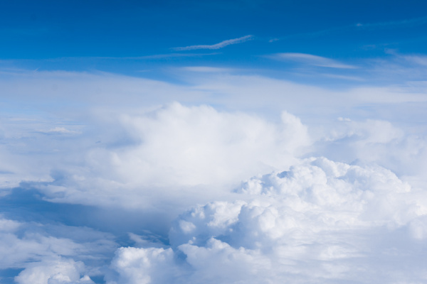 clouds., view, from, the, window, of - 19346758
