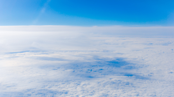clouds, from, airplane, window., height, of - 19424404