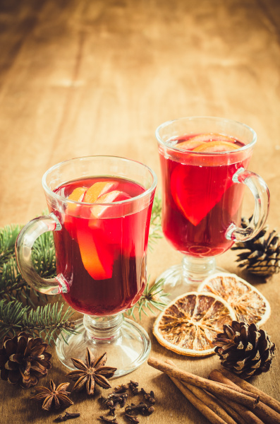 christmas mulled wine spices and