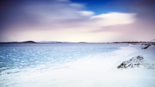 beautiful landscape of iceland