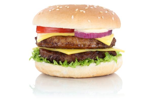 double cheeseburger hamburger kaese freisteller freigestellt
