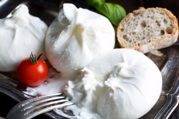 italian cheese burrata tomatoe and