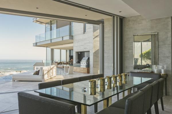 luxury modern home showcase dining room