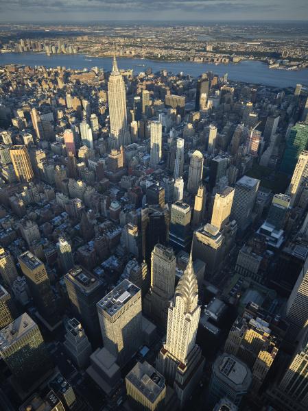 usa new york city aerial photograph