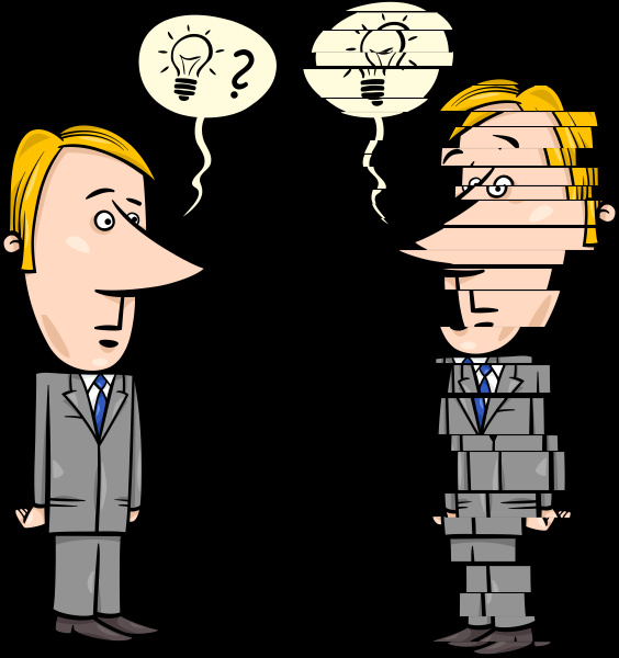 frustrated businessman cartoon