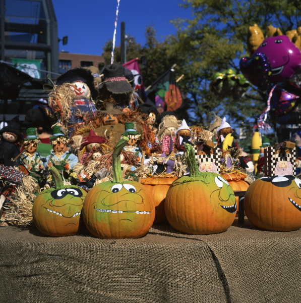 decorated pumpkins on sale for halloween