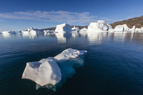 grounded icebergs rode o