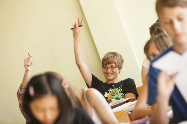 austria students in class