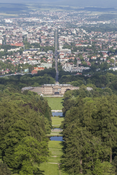 germany kassel view to