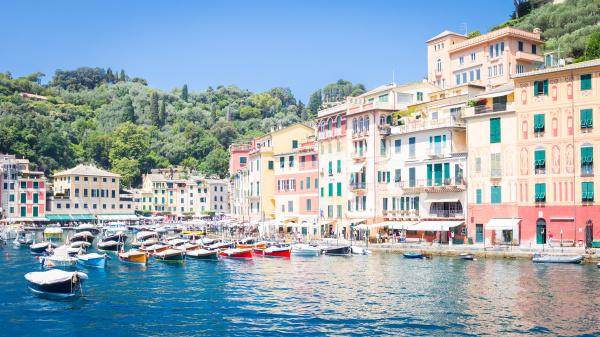 portofino italy summer