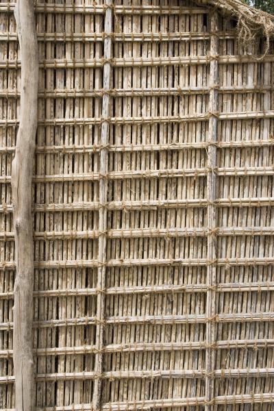 dubai uae thatch display at heritage