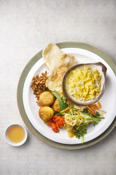 nasi jagung indonesian corn rice with