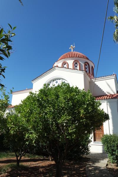 church architecture in crete elounda