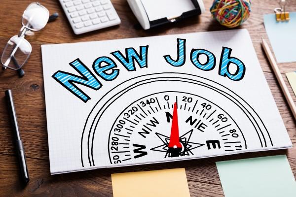 new job employment concept