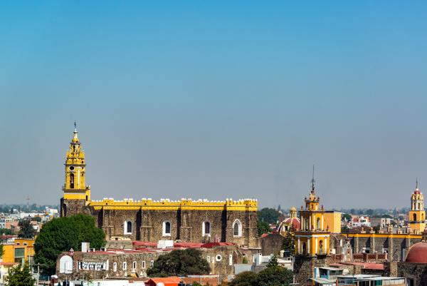view of san gabriel convent