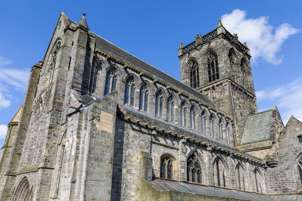 paisley abbey renfrewshire scotland