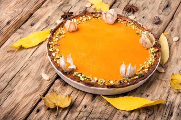 autumn pumpkin pie
