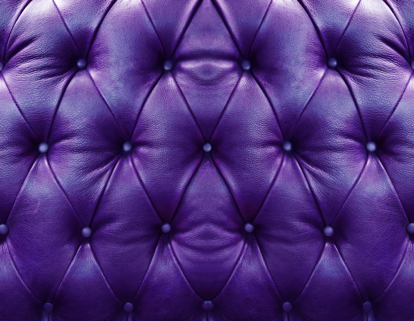 violet upholstery leather
