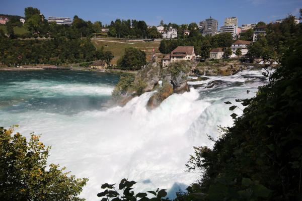 rhine falls in schaffhausen