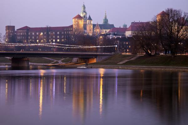 poland krakow wawel castle