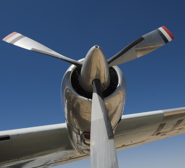 propellor of constellation airplane
