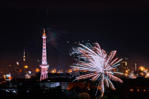berlin panorama at night new