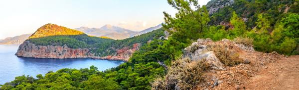 antalya sea landscape view