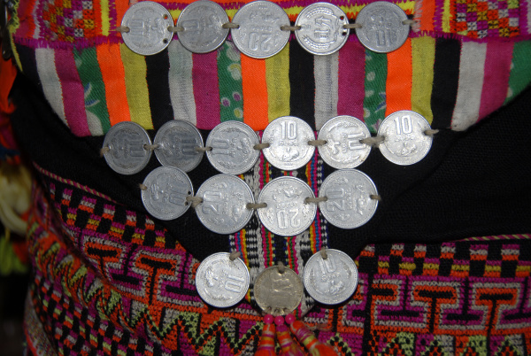 woman asia coin jewelry jewellery anciently