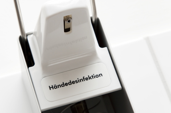hand disinfection disinfection for the