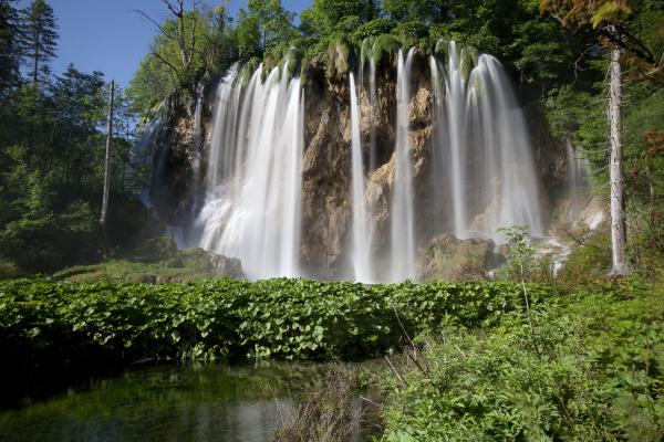 waterfall galovac buk plitvice lakes