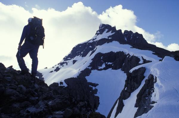 lone mountaineer
