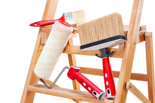 professional painter work tools