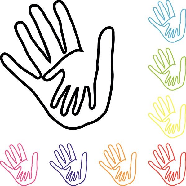 hands people team