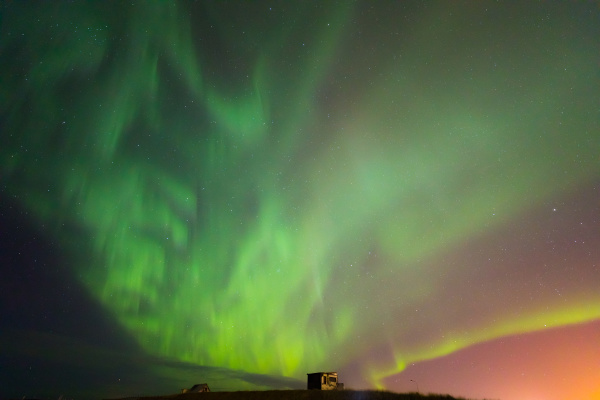 the northern light aurora borealis iceland