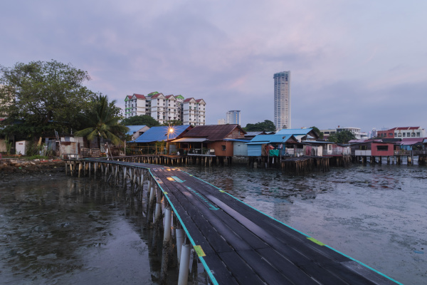 chinese clan jetty community penang malaysia