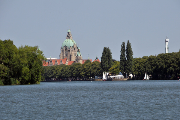 new city hall of hannover with