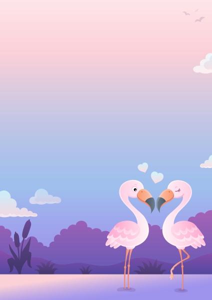 valentine flamingos topic image 6