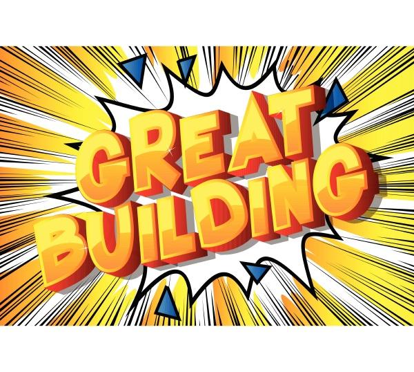 great building comic book
