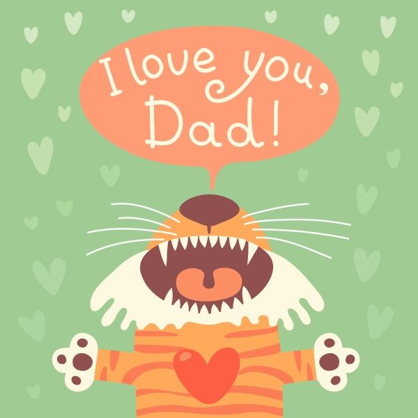 card happy fathers day with funny