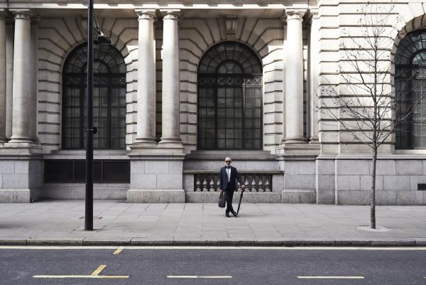 uk london stylish senior