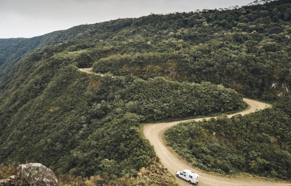 brazil aparados da serra caravan on