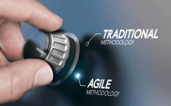 changing project management methodology from traditional