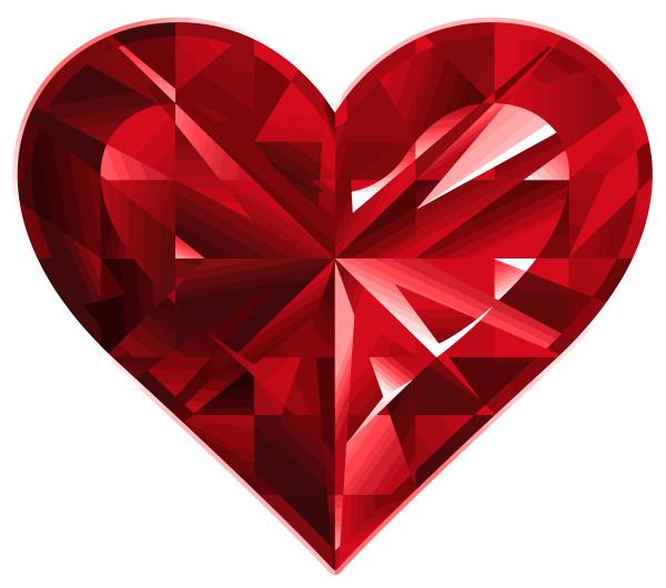 heart gem love bright luxury romance