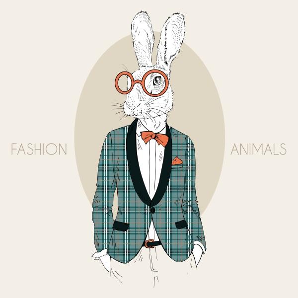 fashion animal illustration furry art