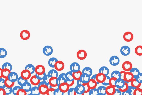like heart icon illustration communication media